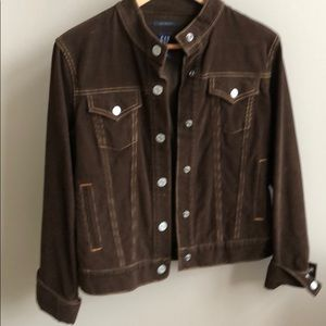GAP brown corduroy jacket
